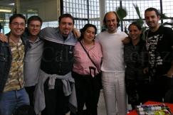 Con Carlos Núñez