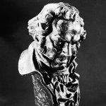 Estatuilla premio Goya