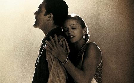 Antonio Banderas y Madonna en 'Evita'