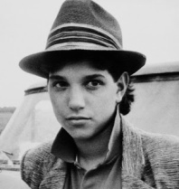 "Ralph Macchio in movie ""Crossroads""."