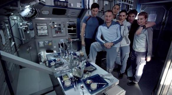 Crew Europa Report Posing