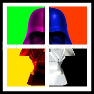 'Pop Vader', by Isra Calzado López