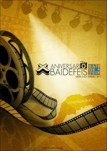 X ANIVERSARIO BAIDEFEIS cartel web