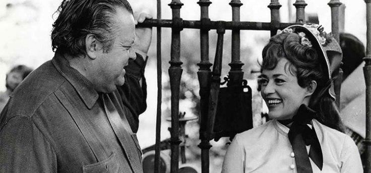 Orson Welles y Jeanne Moreau, 'Una historia inmortal' (1968)