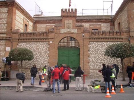 Rodaje de 'El patio de mi cárcel' (2008)
