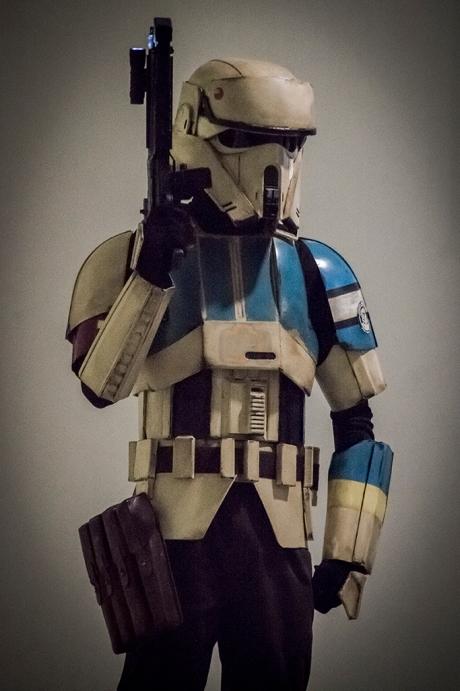 Una armadura molona.