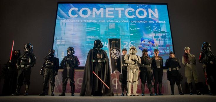 La Legión 501, espectacular como siempre, abrió el concurso de cosplay.