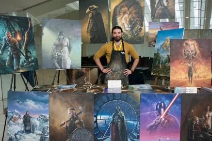 Breogán Álvarez, un verdadero artista.
